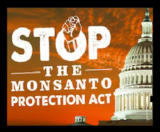 Stop the Monsanto Protection Act!