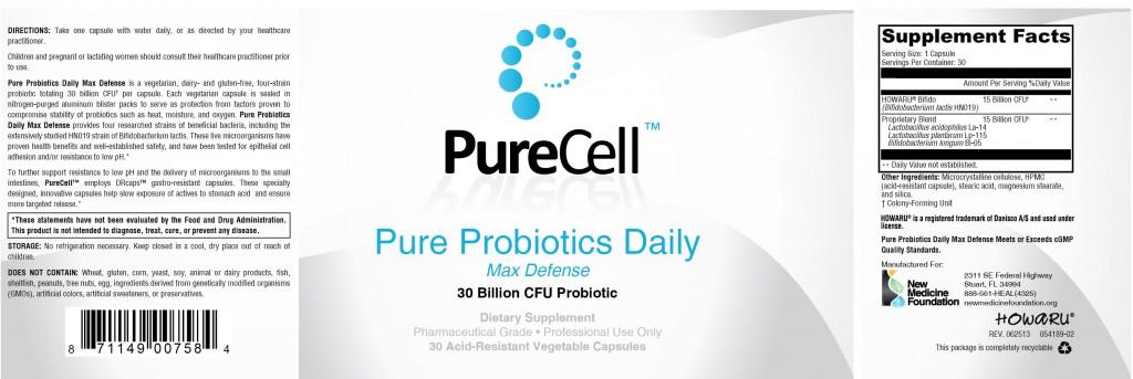 ProbioMax DAILY DF 30c BLISTER~Pure Probiotics Daily Max Defense